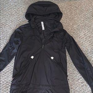Lululemon hooded rain jacket